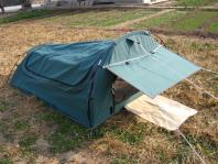 Environment determines the type of outdoor tent