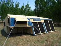 Camper Trailer Tent structures Issues to be considered